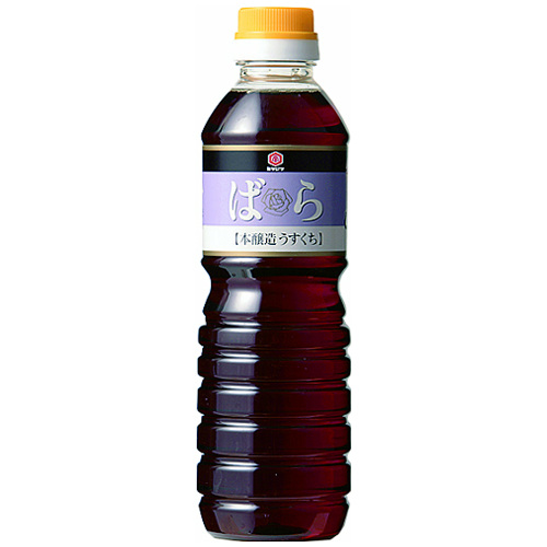 本醸造ばら淡口醤油